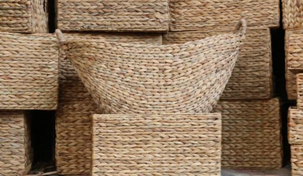 Nghề đan bèo tây xuất ngoại ở Ninh Bình - ảnh 2