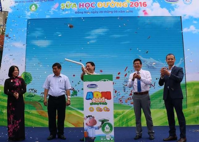 Vinamilk và Tetra Pak khởi động chương trình Sữa học đường - ảnh 1