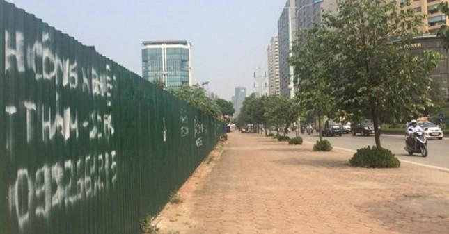 Khu ĐT mới Phùng Khoang: Quây tôn trồng cỏ suốt gần thập kỷ - ảnh 2
