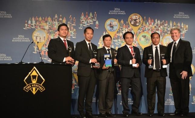 """Doanh nghiệp Việt """"thắng đậm"""" tại giải thưởng Kinh doanh quốc tế 2016 - ảnh 1"""