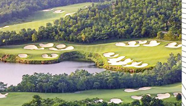 Hà Nam có sân golf 36 lỗ đầu tiên    - ảnh 1