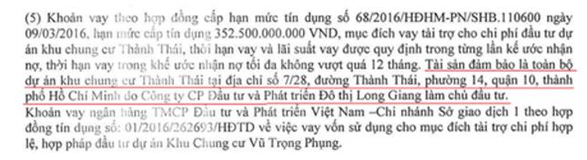 """Long Giang Land lấn sân bất động sản, """"gánh"""" nợ gần 1.270 tỷ đồng - ảnh 2"""