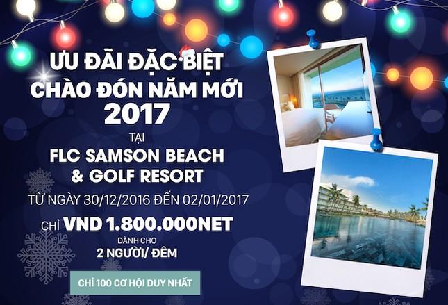 Phòng khách sạn 5 sao giá 1,8 triệu đồng dịp Tết dương lịch - ảnh 2