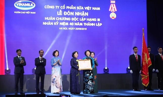 Vinamilk 40 năm nuôi dưỡng ước mơ vươn cao Việt Nam  - ảnh 1