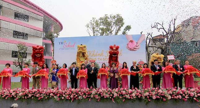 Bộ trưởng Nhạ đặt niềm tin 'TH School sẽ là cơ sở giáo dục hàng đầu Việt Nam' - ảnh 1
