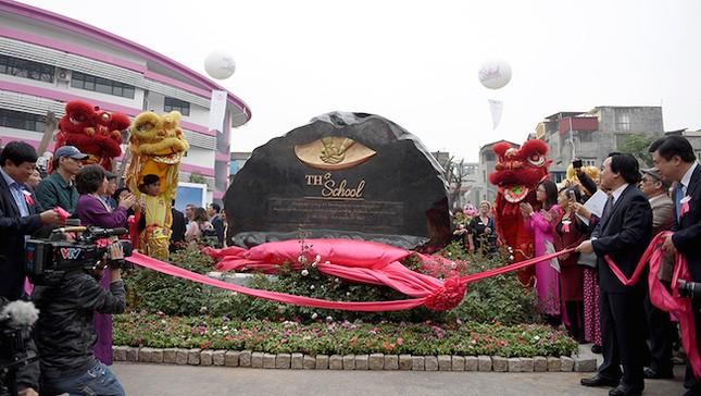 Bộ trưởng Nhạ đặt niềm tin 'TH School sẽ là cơ sở giáo dục hàng đầu Việt Nam' - ảnh 5