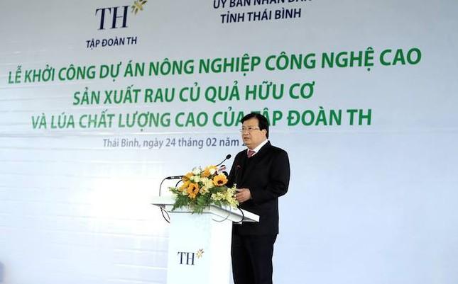 Tập đoàn TH khởi công dự án 3000 tỷ đồng tại Thái Bình - ảnh 1
