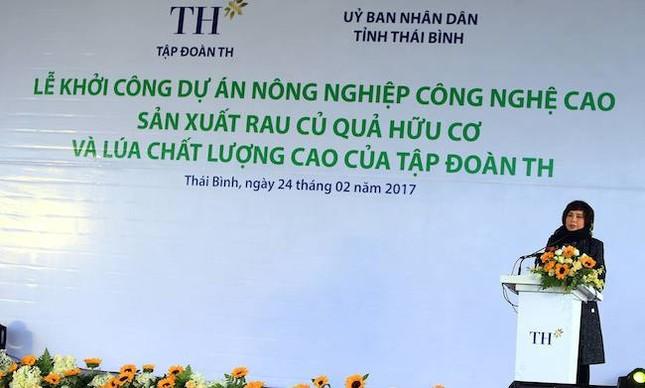 Tập đoàn TH khởi công dự án 3000 tỷ đồng tại Thái Bình - ảnh 2