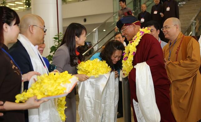 Khai mở bức tranh phật lớn nhất Việt Nam - ảnh 3