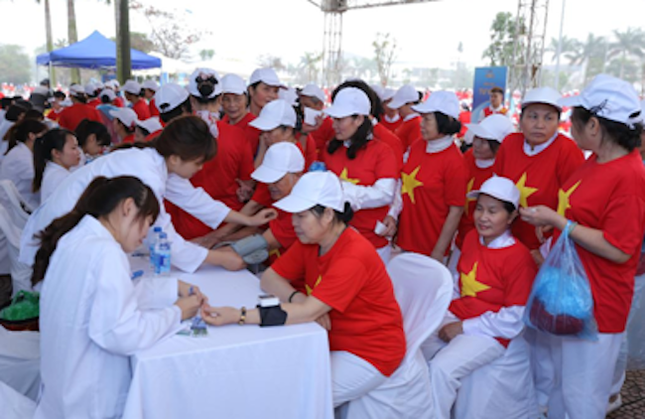 Vinamilk xác lập kỷ lục đồng diễn thể dục dưỡng sinh đông nhất Việt Nam - ảnh 2