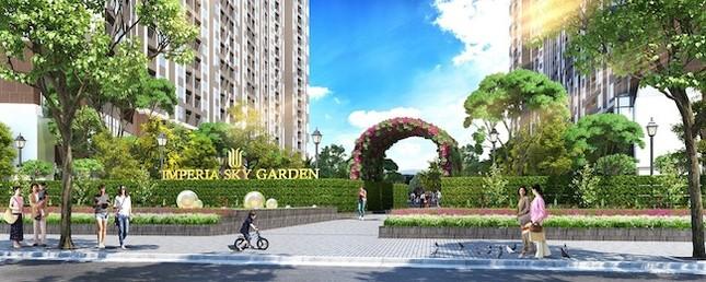 Hòa Bình sẽ thi công xây dựng dự án Imperia Sky Garden - ảnh 1