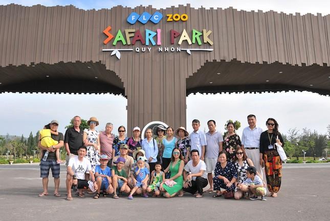 FLC Zoo Safari thu hút hàng ngàn lượt khách - ảnh 4