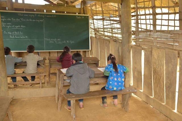 'Mang' trường tiểu học lên vùng cao Pú Xi, Điện Biên - ảnh 3