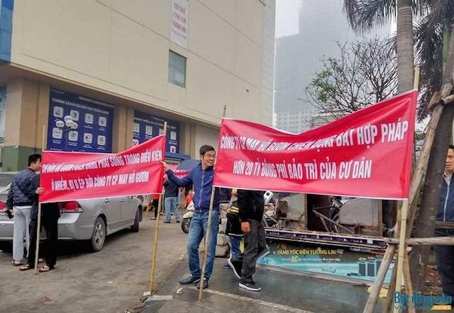 Cư dân 'biểu tình', chung cư xuống giá, mất thanh khoản - ảnh 1