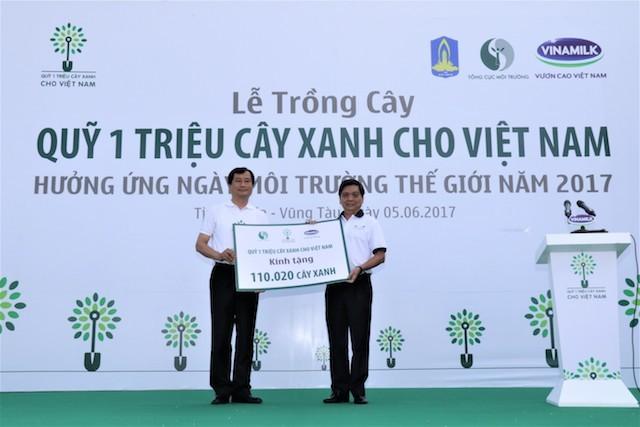 Hơn 110.000 cây xanh được trồng tại Bà Rịa Vũng Tàu - ảnh 1