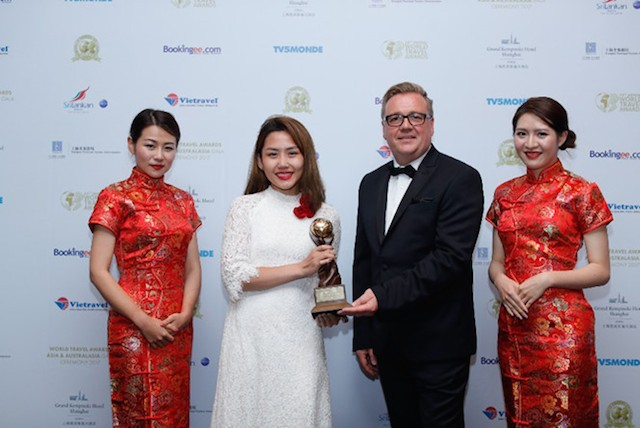 """Naman Retreat tiếp tục nhận giải """"Oscar"""" Khu nghỉ dưỡng hàng đầu Châu Á - ảnh 1"""