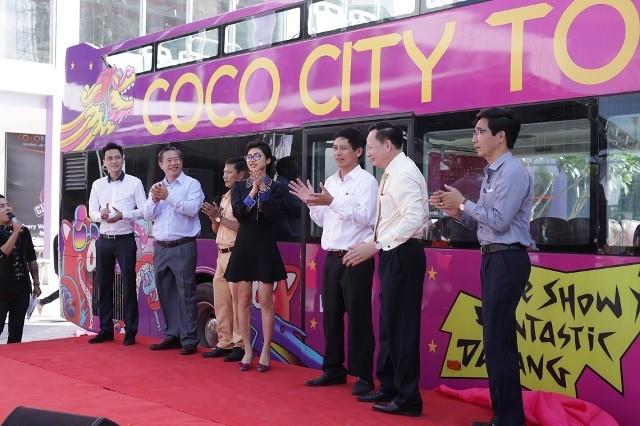Xe buýt du lịch 2 tầng Coco City Tour có mặt tại Đà Nẵng - ảnh 2