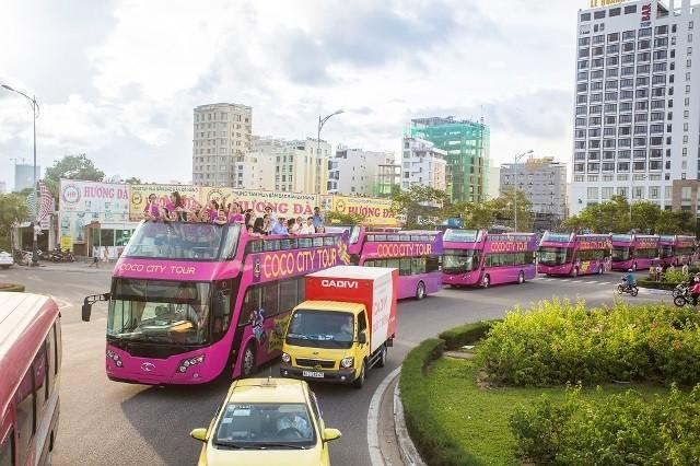 Xe buýt du lịch 2 tầng Coco City Tour có mặt tại Đà Nẵng - ảnh 1