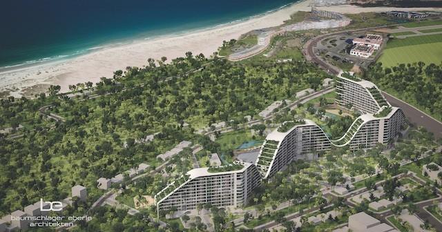 """Khách sạn """"xanh"""" có bể bơi dài nhất Việt Nam 'hút' 2.000 khách hàng - ảnh 1"""