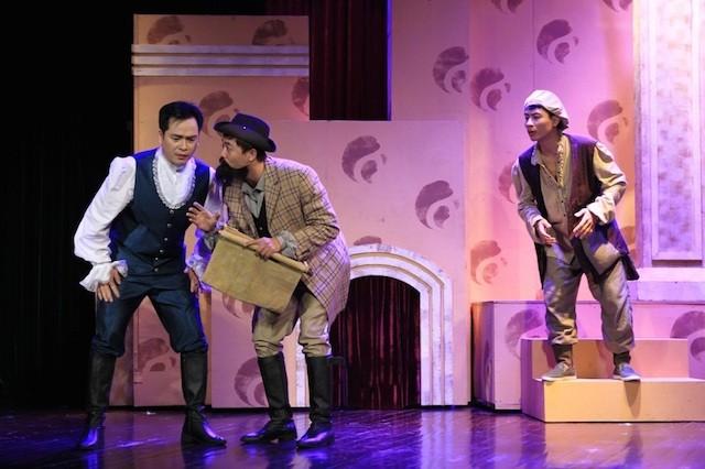 """Hai """"viên ngọc sáng"""" làng kịch nói bước lên sân khấu Nhà hát lớn - ảnh 1"""