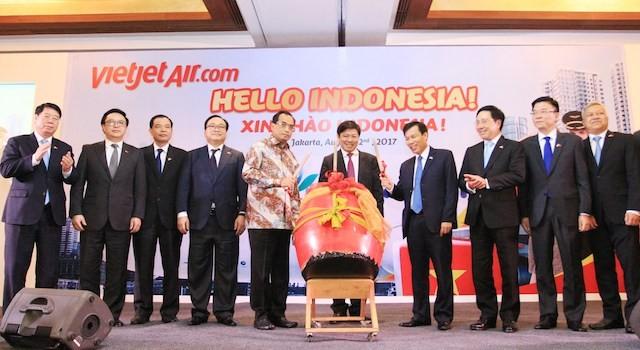 Vietjet mở đường bay tới Jakarta (Indonesia)    - ảnh 1