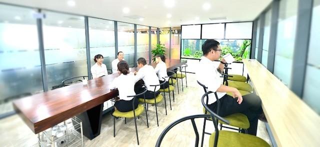 Văn phòng xanh đáng mơ ước của dân công sở - ảnh 2