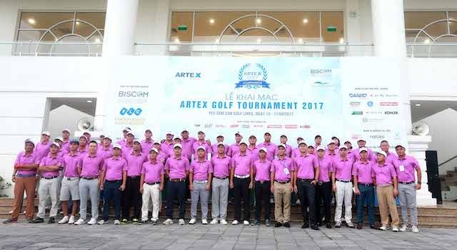 Artex Golf Tournament 2017 chính thức khai mạc tại FLC Samson Golf Links - ảnh 1