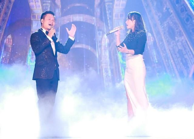 Nhà báo Lại Văn Sâm tái xuất sân khấu Sao Mai đêm gala 20 năm - ảnh 3