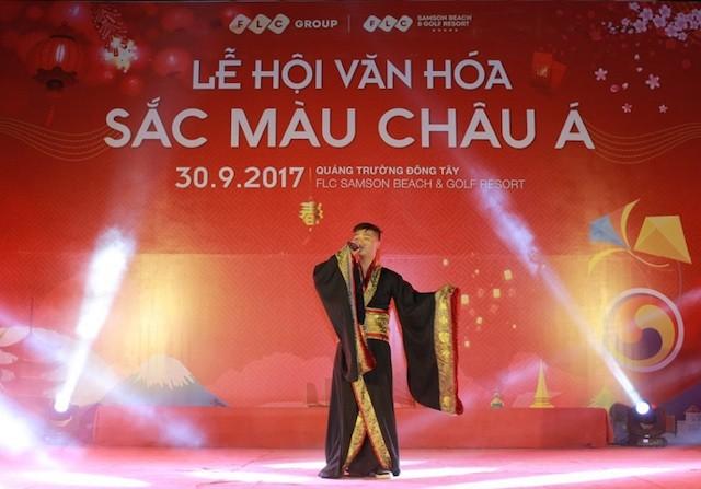 Rực rỡ lễ hội sắc màu châu Á tại FLC Sầm Sơn - ảnh 1