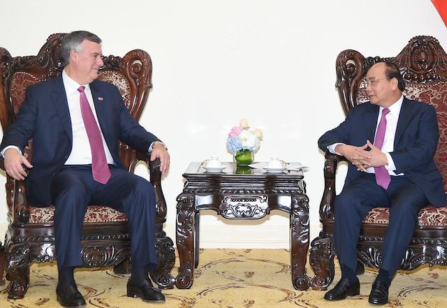 Thủ tướng đề nghị Boeing hỗ trợ Việt Nam thực hiện các chuyến bay thẳng đến Hoa Kỳ - ảnh 1