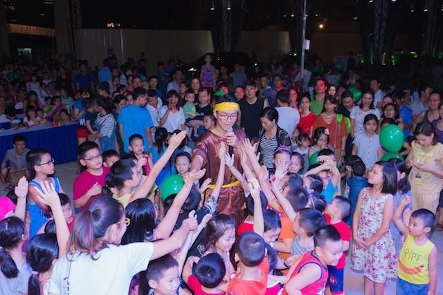 Lễ hội trung thu tại TNR Goldmark City độc đáo nhất Hà Nội - ảnh 8