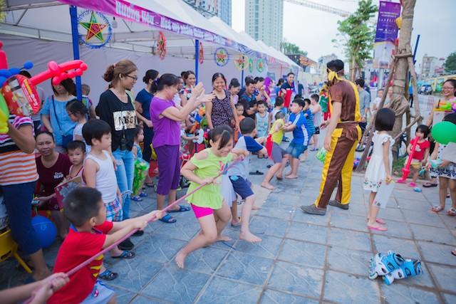Lễ hội trung thu tại TNR Goldmark City độc đáo nhất Hà Nội - ảnh 1