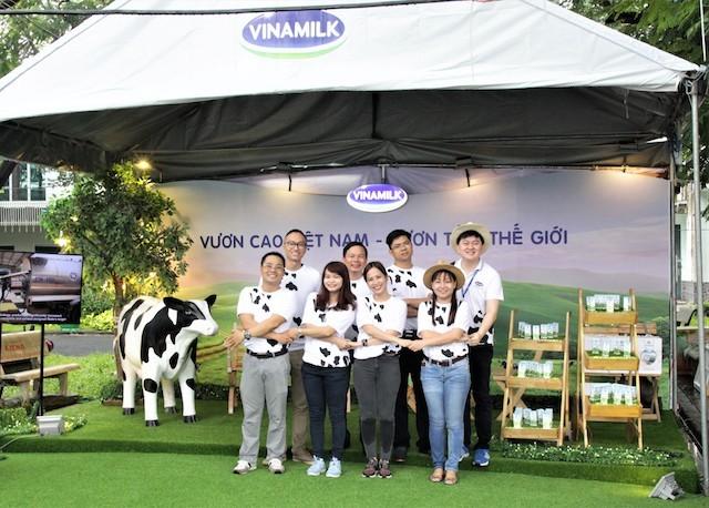 Vinamilk đồng hành cùng 'Ngày hội việc làm Bách Khoa 2017' - ảnh 2