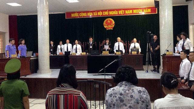 Cựu ĐBQH Châu Thị Thu Nga bị tuyên án tù chung thân - ảnh 1