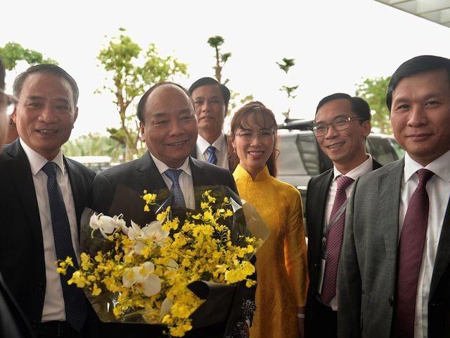 Thủ tướng cắt băng khánh thành Trung tâm hội nghị quốc tế lớn nhất Việt Nam - ảnh 4