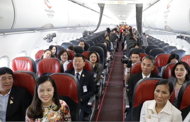 Vietjet Thailand nhận tàu bay mới mang biểu tượng du lịch Thái Lan 2018 - ảnh 1