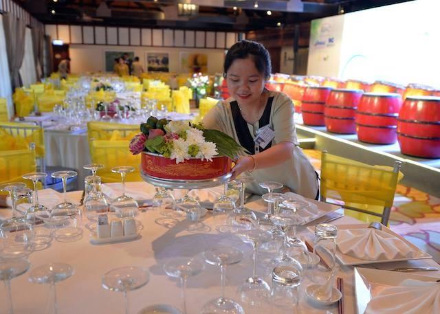 Khám phá tiệc chiêu đãi thực khách APEC 2017 - ảnh 12