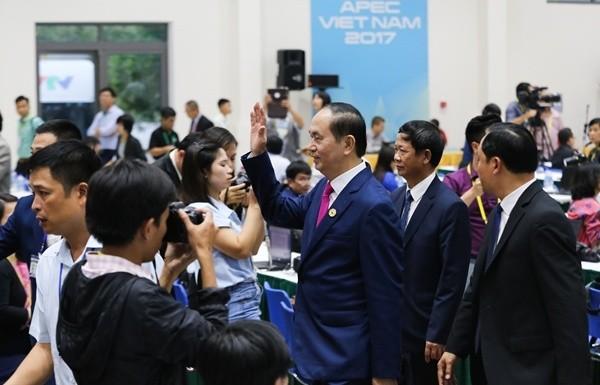 Chủ tịch nước: 'APEC đã thông qua 5 nội dung quan trọng' - ảnh 1