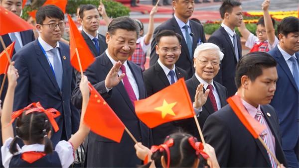 Lễ đón Chủ tịch Trung Quốc Tập Cận Bình tại Hà Nội - ảnh 2