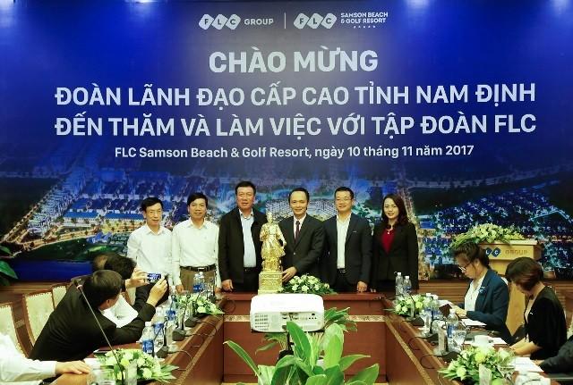 Bí thư Nam Định: 'Tỉnh sẽ vào cuộc tích cực để hỗ trợ FLC nghiên cứu đầu tư' - ảnh 1