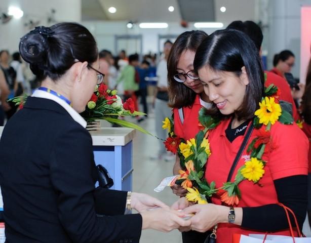 Vietjet tưng bừng khai trương đường bay Nha Trang – Seoul (Hàn Quốc) - ảnh 1