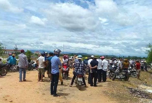 Phát hiện thi thể cháu bé mất tích ở Quảng Bình - ảnh 1