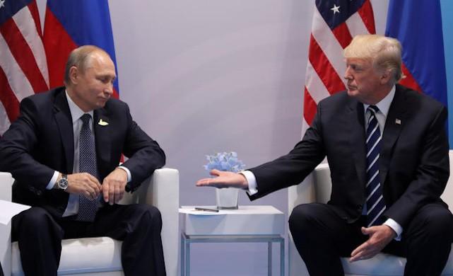Tổng thống Trump muốn mời ông Putin thăm Nhà Trắng - ảnh 1