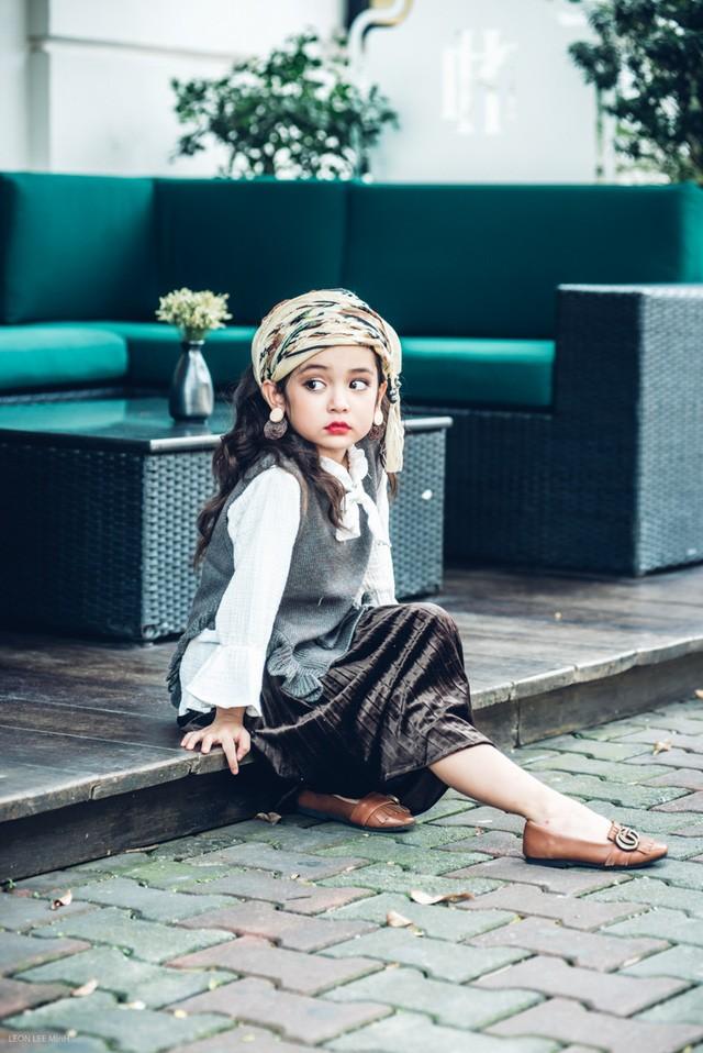 Khó rời mắt khỏi vẻ đẹp cuốn hút của bé gái Hà Nội - ảnh 8