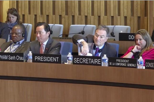 Đại sứ Phạm Sanh Châu: Tôi sẽ giúp UNESCO đoàn kết hơn - ảnh 4