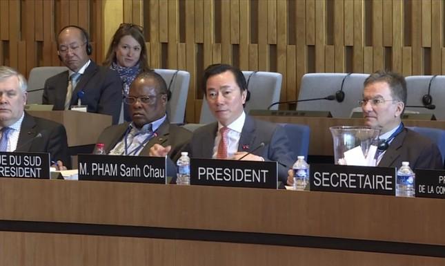 Đại sứ Phạm Sanh Châu: Tôi sẽ giúp UNESCO đoàn kết hơn - ảnh 9