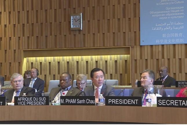 Đại sứ Phạm Sanh Châu: Tôi sẽ giúp UNESCO đoàn kết hơn - ảnh 5